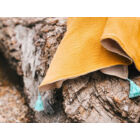 Sárga kender-pamut takaró (RokkaDesign)