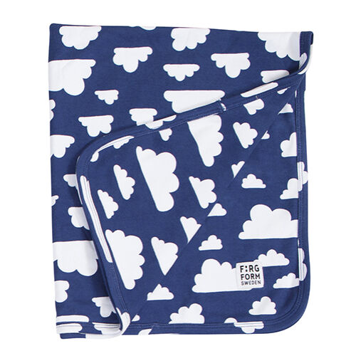 Kék felhős babatakaró, Farg&Form