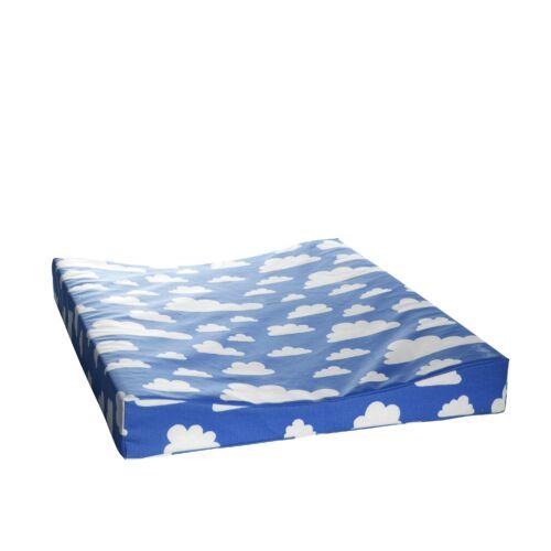 Kék felhős pelenkázó matrac, Farg&Form