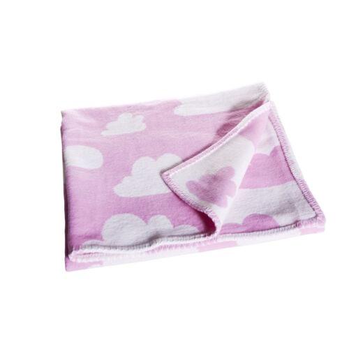 Rózsaszín felhős szövött takaró, Farg&Form