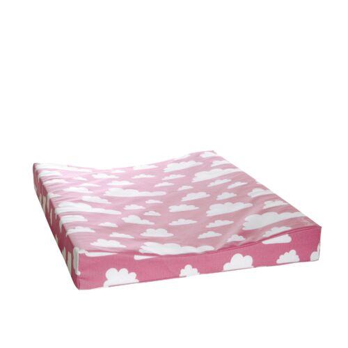 Rózsaszín felhős pelenkázó matrac, Farg&Form