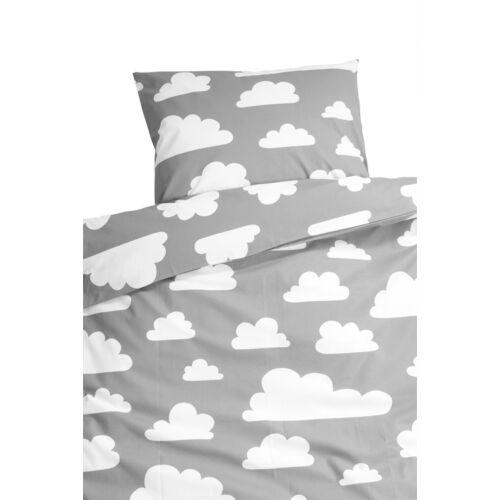 Szürke felhős ágynemű garnitúra, Farg&Form