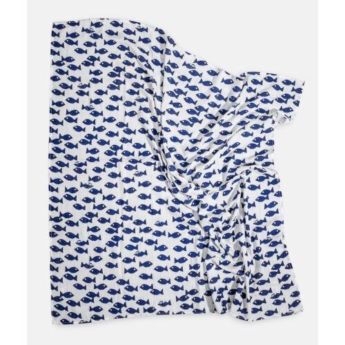 Kék-fehér halas vékony takaró, Fine Little Day