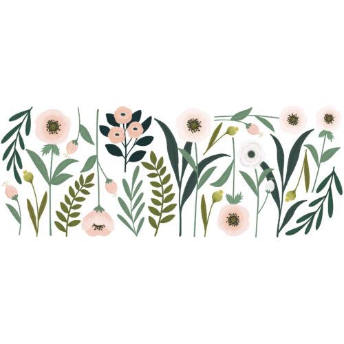 """""""Óriás virágok és levelek"""" nagy méretű falmatrica, Lilipinso"""