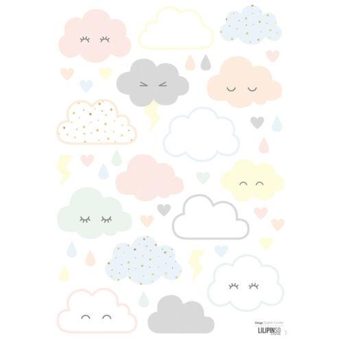 """Pasztell felhők"" falmatrica, Lilipinso"