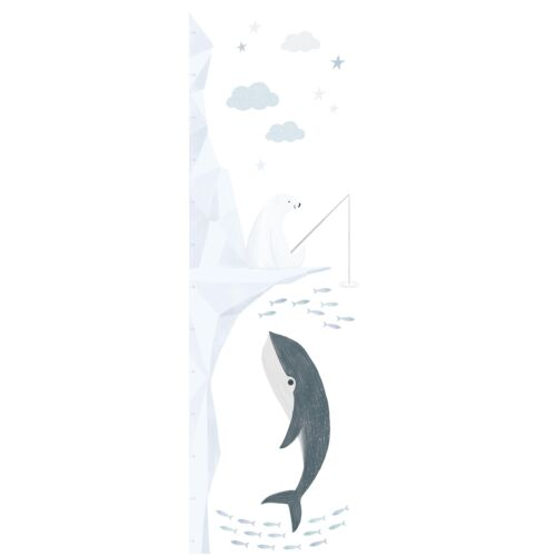 """""""Pecázó jegesmedve"""" nagy méretű falmatrica, Lilipinso"""