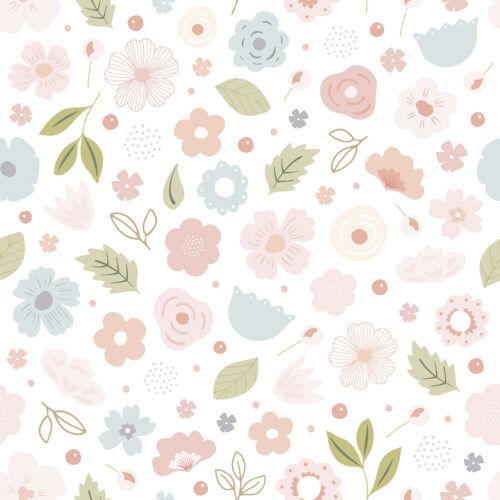 Virágos tapéta gyerekszobába, Lilipinso