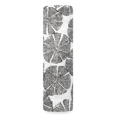 """""""Fekete-fehér bóbita"""" bambusz takaró (aden+anais)"""