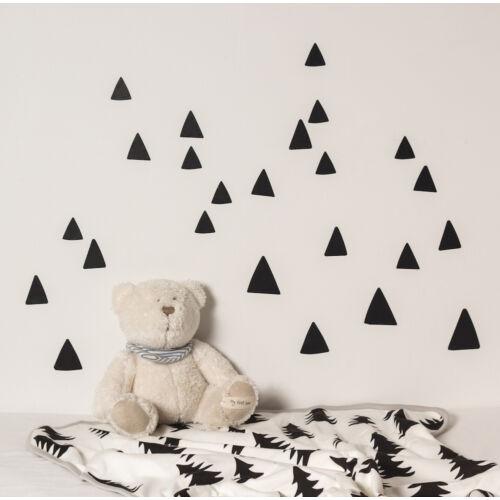 Fekete hegy / háromszög formájú falmatricák