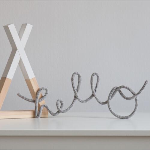 hello felirat - több színben (Lagom)
