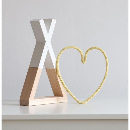 kis szív forma - több színben (Lagom)