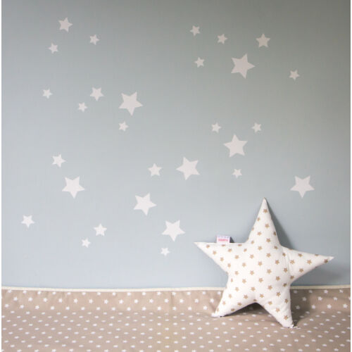 Fehér csillagos falmatricák, Little Stars
