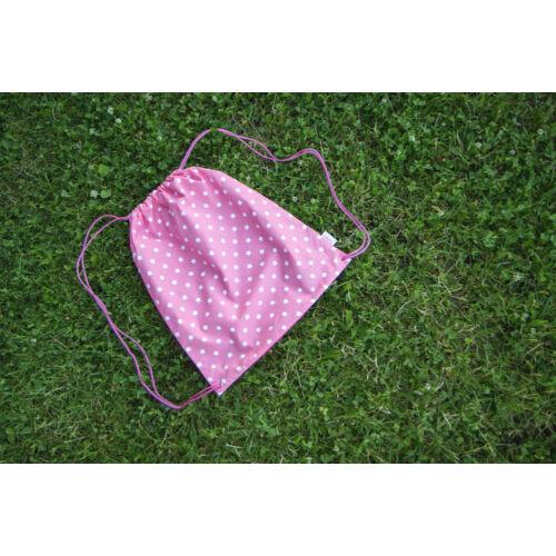 Pink csillagos útravaló hátizsák, Little Stars