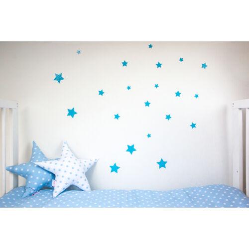 Kék csillagos falmatricák, babyberry