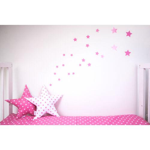 Pink csillagos falmatricák, Little Stars