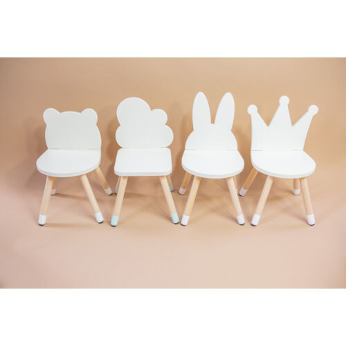Gyerek kis szék (felhős, nyuszis, macis, koronás)