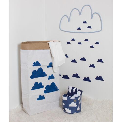 Kék felhős papírzsák