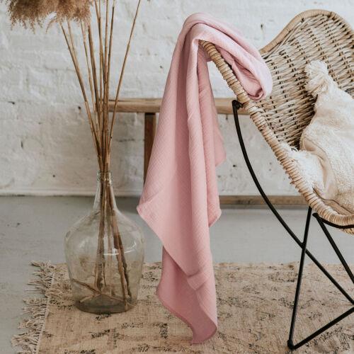 Világos mályva muszlin takaró - Pure Love (babyberry)