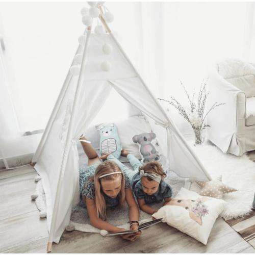 Fehér indián sátor, többféle méretben (Siller baby)