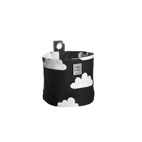 Fekete felhős felakasztható tárolók, Farg&Form