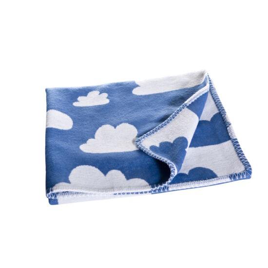 Kék felhős szövött takaró, Farg&Form