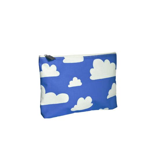 Kék felhős zipzáros tároló / neszesszer, Farg&Form
