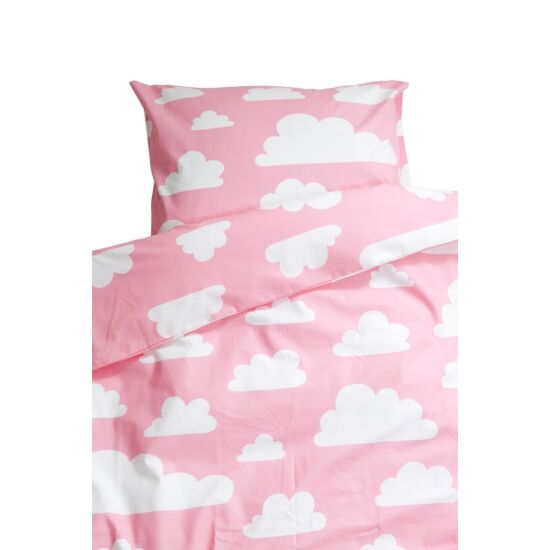Rózsaszín felhős ágynemű garnitúra, Farg&Form