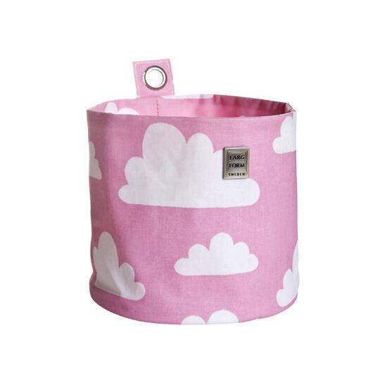 Rózsaszín felhős felakasztható tárolók, Farg&Form