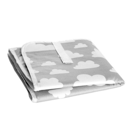 Szürke felhős pelenkázó alátét (összehajtható), Farg&Form