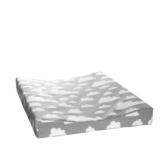 Szürke felhős pelenkázó matrac, Farg&Form