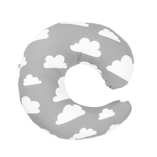 Szürke felhős szoptatós párna, Farg&Form