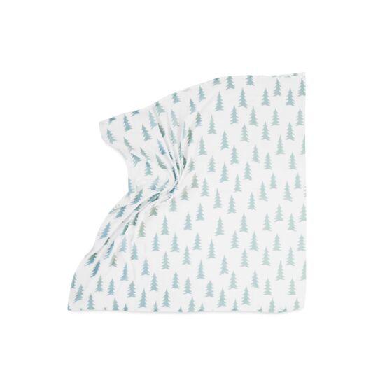 Menta-fehér fenyőfás vékony takaró, Fine Little Day