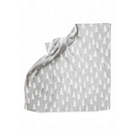 Szürke-fehér fenyőfás vékony takaró, Fine Little Day