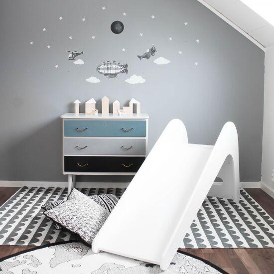 Jupiduu fa szoba csúszda, fehér
