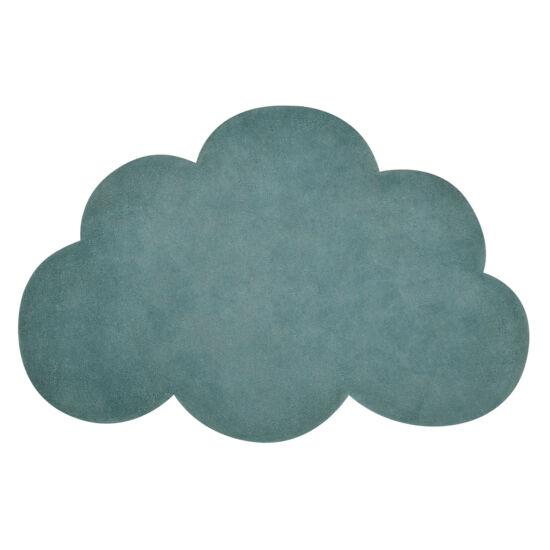 Felhő alakú szőnyeg - petrol zöld, Lilipinso