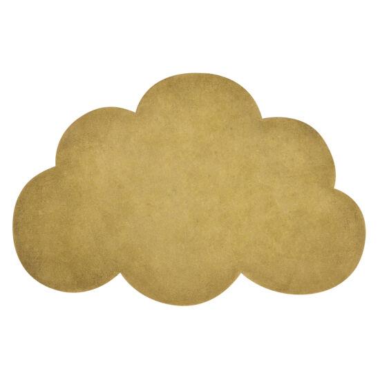 Felhő alakú szőnyeg - mustár sárga, Lilipinso
