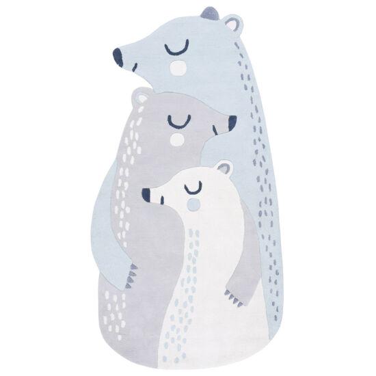 jegesmedve családos szőnyeg