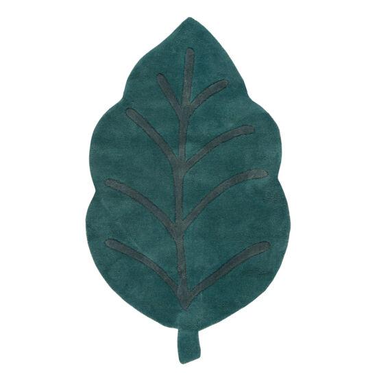 zöld levél alakú szőnyeg
