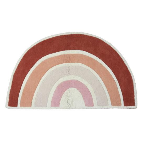 Rózsaszín szivárvány mintás szőnyeg, Lilipinso