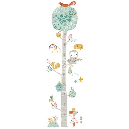"""""""Erdő"""" magasságmérős, nagy méretű falmatrica, Lilipinso"""