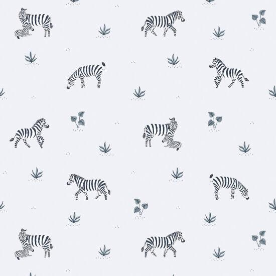 zebra mintás tapéta