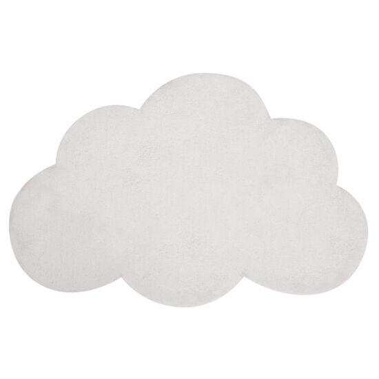 Felhő alakú szőnyeg - fehér, Lilipinso