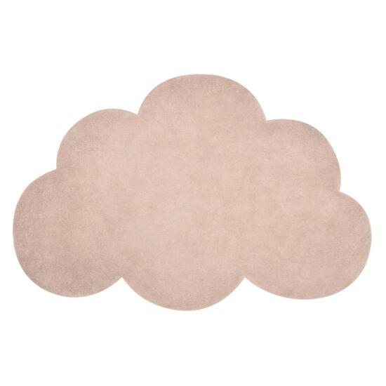 Felhő alakú szőnyeg - lazac / korall, Lilipinso