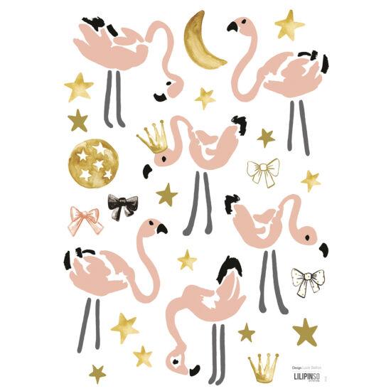 """Flamingók"" falmatrica, Lilipinso"