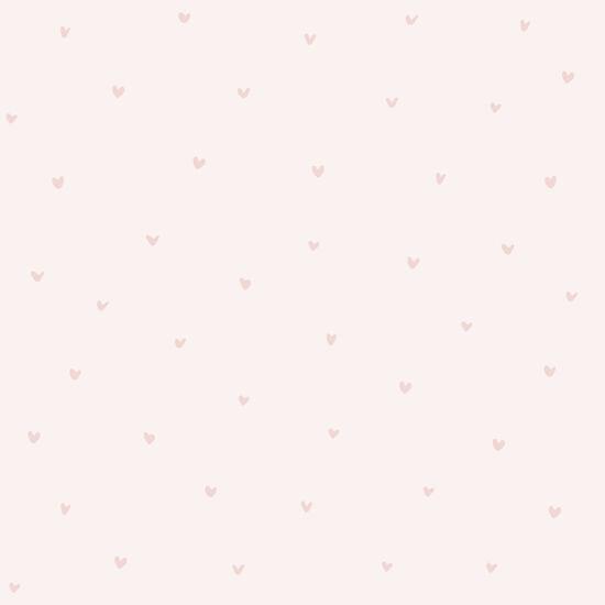 Rózsaszín apró szívecskés tapéta gyerekszobába, Lilipinso