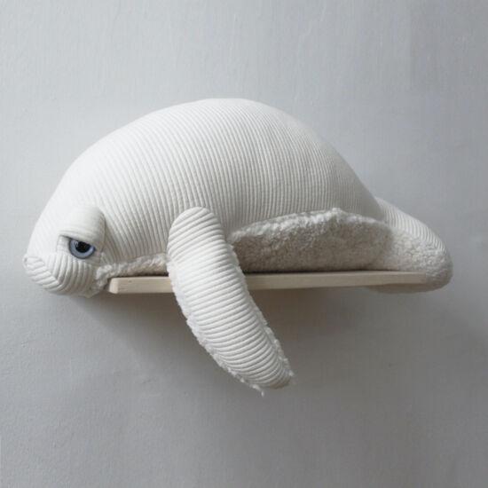 Lamantin - albínó, nagy (BigStuffed)