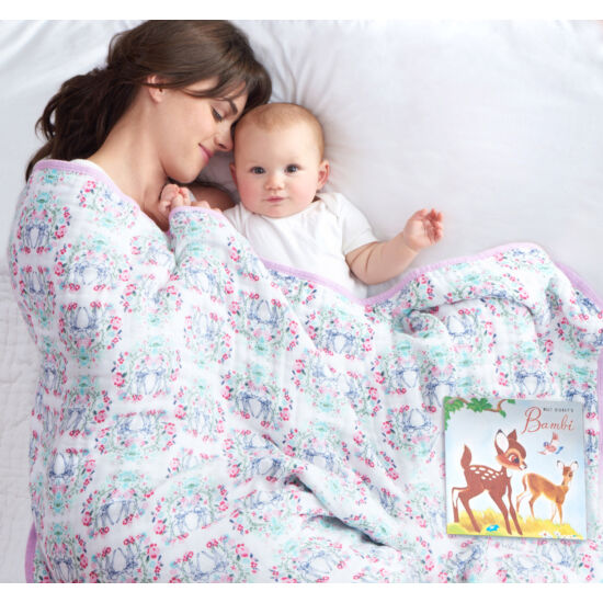 "Bambis vastag muszlin ""álom takaró"" (Disney & aden+anais)"