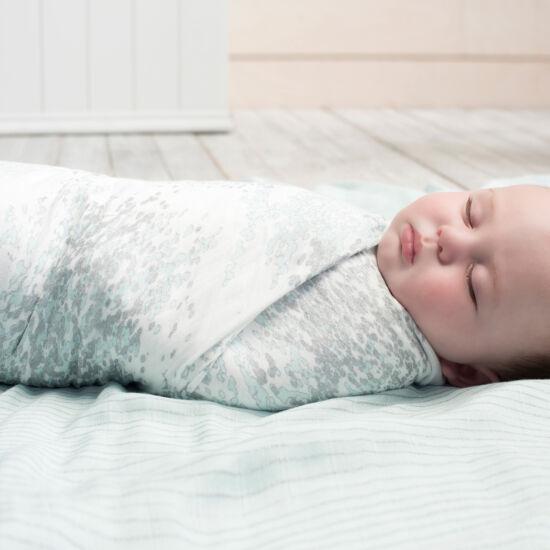 Menta-ezüst bambusz takaró, 3-as csomag (aden+anais)