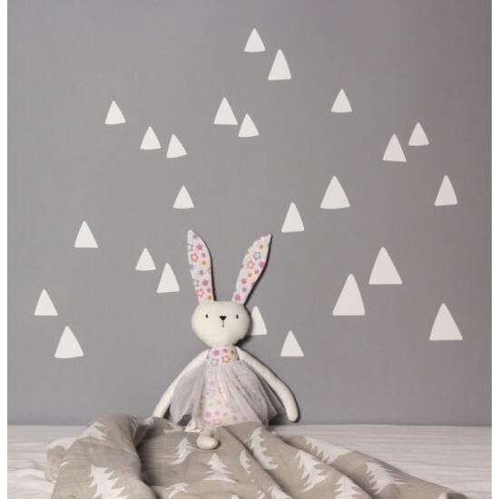 Fehér hegy / háromszög falmatricák