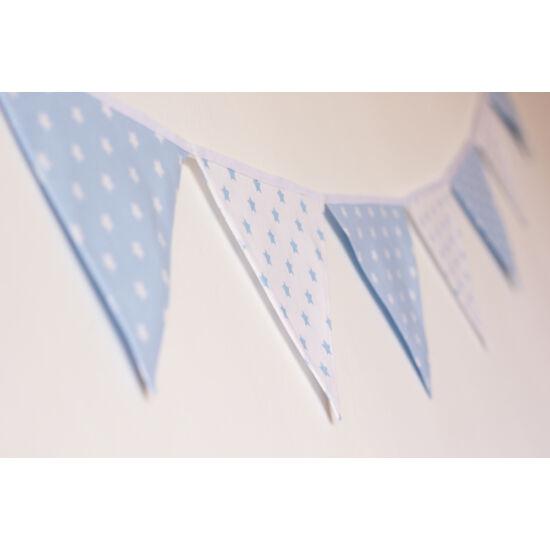 Kék csillagos zászló girland, Little Stars